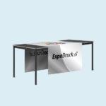 ExpoDruck Tischläufer druck bedruckt gerade kante breit