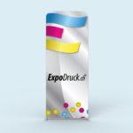 ExpoDruck Tube Display druck bedruckt