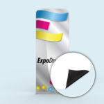 ExpoDruck Tube Display druck bedruckt detail