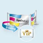ExpoDruck VIP Absperrsystem mehrfeld doppel bedruckt