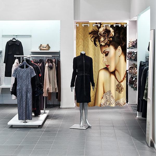 ExpoDruck Vorhänge Garderobe