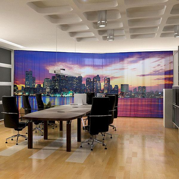 ExpoDruck Vorhänge Sitzungszimmer