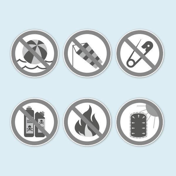 ExpoDruck Werbesäule Air anwendung warnung