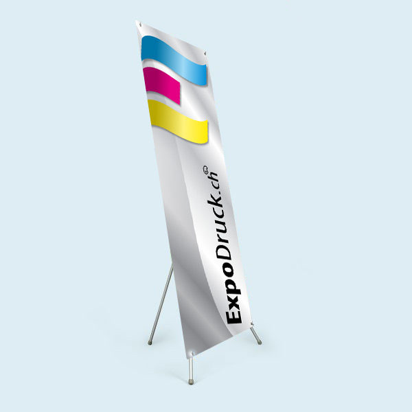 ExpoDruck X-Display Tabletopper druck bedruckt tisch