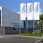 ExpoDruck Fahnendruck Fahnenfabrik Fahnen mit Fahnenmast Hochformatfahne Firmenfahne Druckerei
