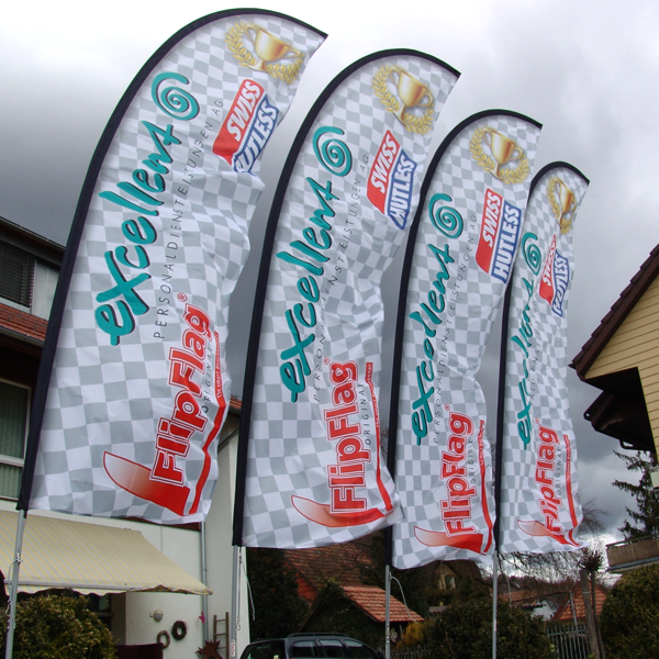 ExpoDruck FlipFlag Select promo swiss outlets