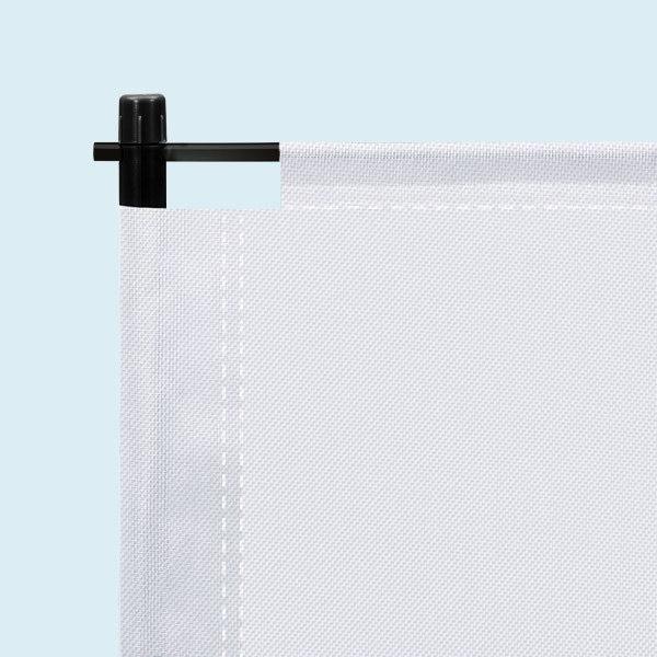 ExpoDruck Promo Rucksack FlipFlag Werbung Fahne Druck bedruckt Promotions Detail