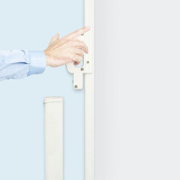 ExpoDruck Seitenmarkise Seitenwand Windschutz Sichtschutz bedruckt Druck