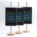 ExpoDruck Tischfahne Wimpel Ständer Fähnchen Druck Tischfähnchen Druckerei