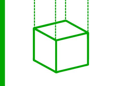 ExpoDruck Deckenhänger bedruckt Werbung Würfel Textil Decke montieren Ring Kreis Box aufhängen hängende Werbung Druck Druckerei