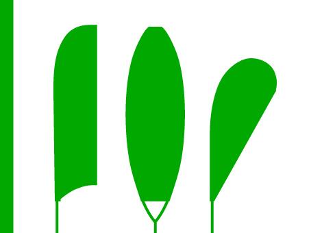 ExpoDruck FlipFlag Eventfahnen Beach-Flag Fahnen Event Druck Beachfahne Druckerei bestellen Shop Werbung Fahnendruck