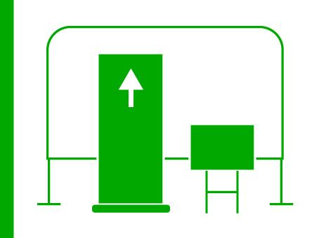 ExpoDruck RollUp Display Ständer bedruckt Tafeln Schilder Druck Messe Ausstellung bestellen Shop Druckerei
