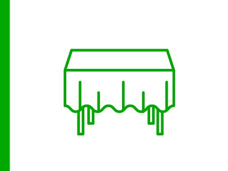 ExpoDruck Tischdecke Tischtuch Druck bedruckt Tisch Tuch Dekoration Textil Stoff Druckerei Tischmesse Tuch Tischläufer Läufer bestellen Shop Druckerei