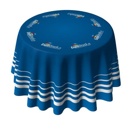 Bedruckte Tischdecke Druck Tischtuch Tischmesse Werbung Druckerei