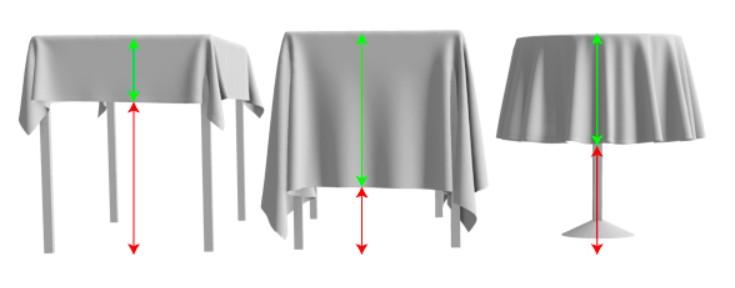 Bedrucktes Tischtuch Tischdecke Druck Grösse