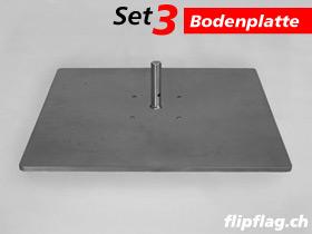 ExpoDruck FlipFlag zubehoer bodenplatte 40 ohne